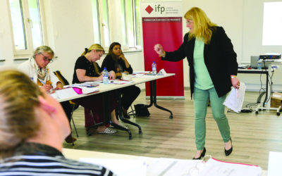 Interview de Maryline Jaggi, formatrice en RH et Assurance